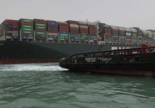 Problemas en el Canal de Suez