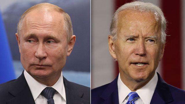 Putin contra Biden.
